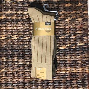 Gold Toe 3-pack men's dress socks 🧦